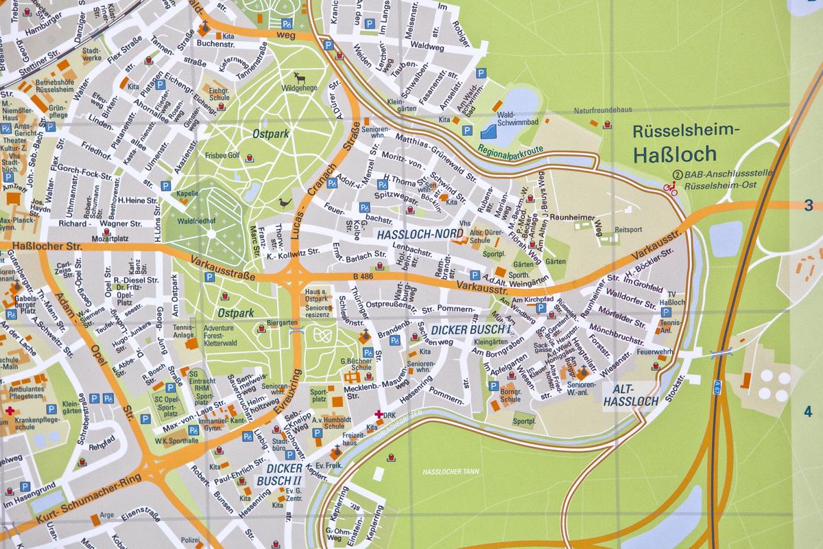 Stadtplangrafik